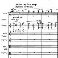 Abrahamsen: String Quartet No. 4. Edition Wilhelm Hansen.
